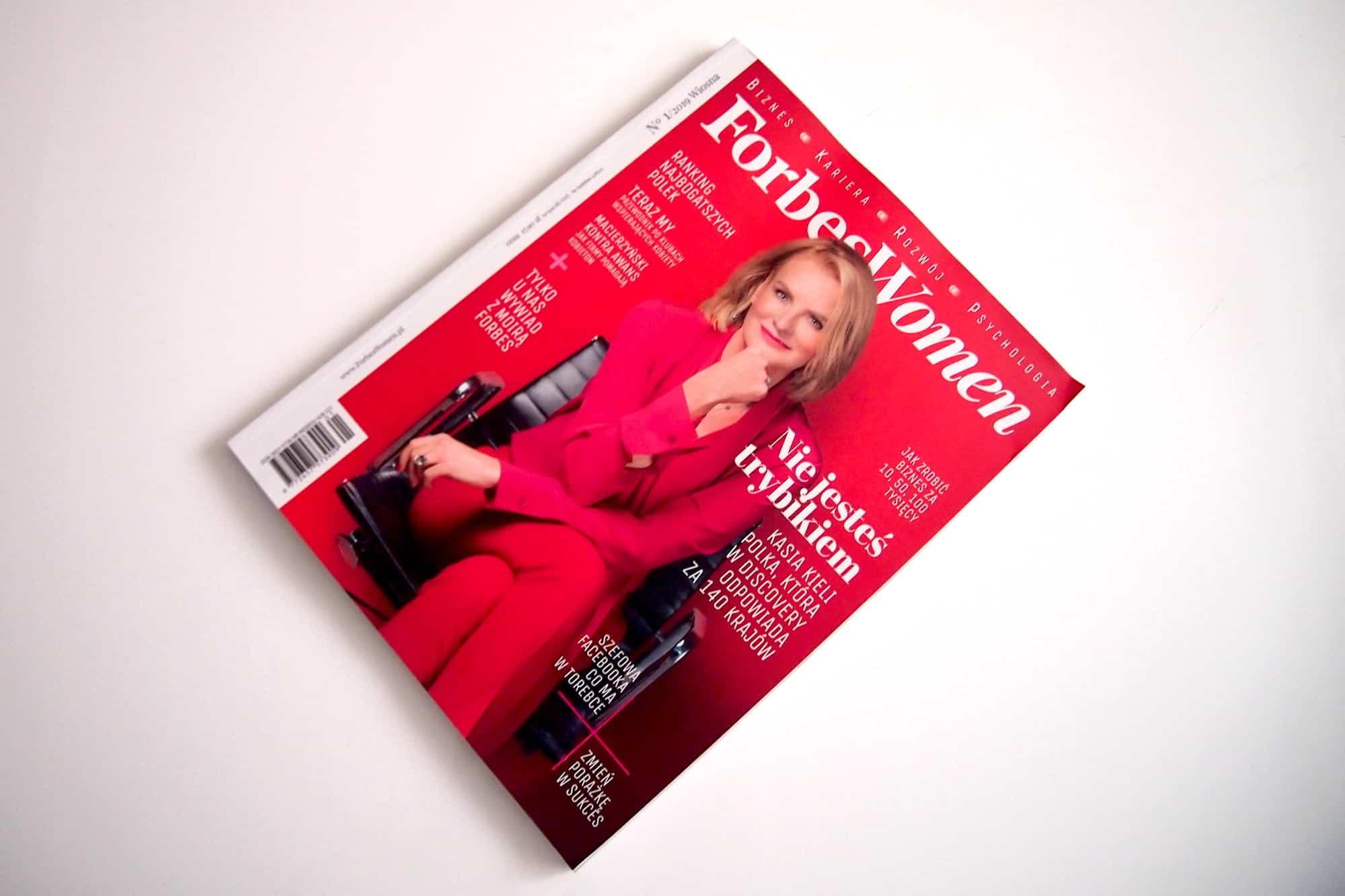 Forbes Women Polska - pierwsze wydanie