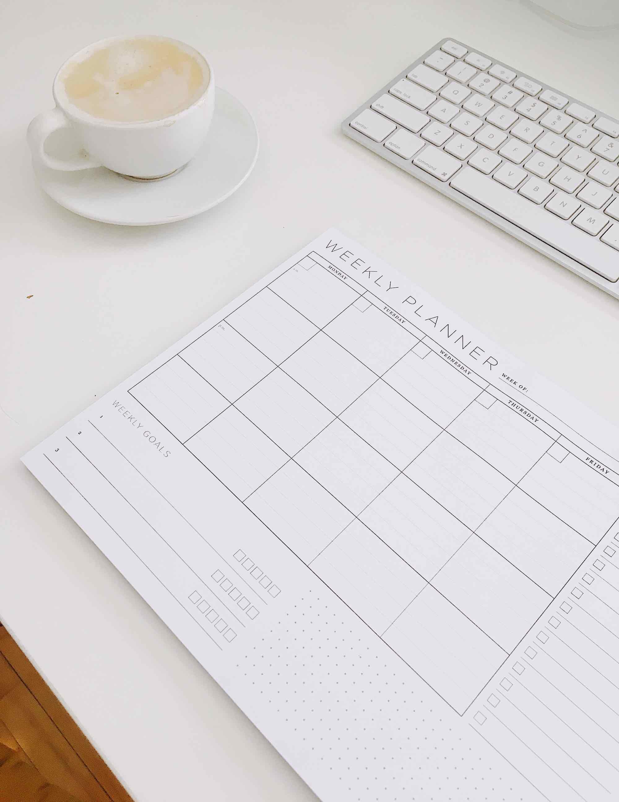 Planer na biurko