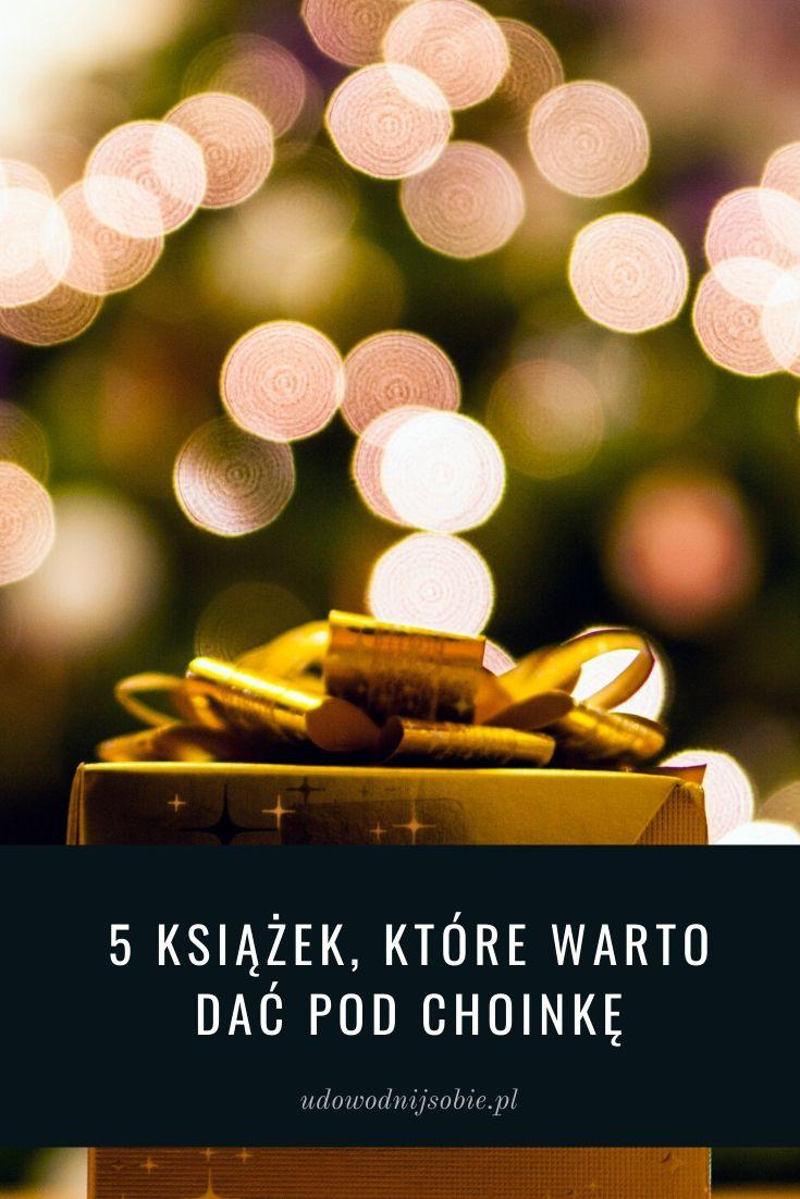 Książki na prezent gwiazdkowy