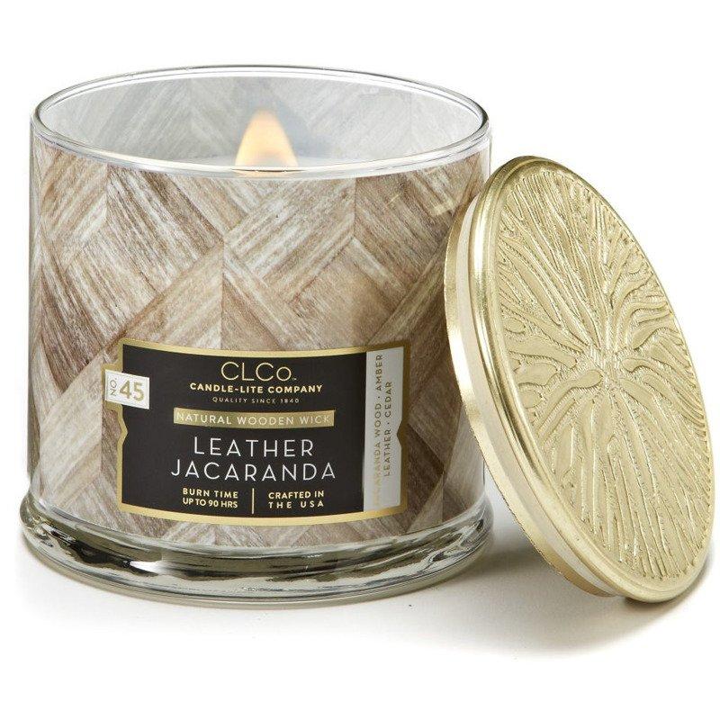 Świeca zapachowa Leather Jacaranda